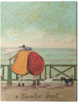Canvas Sam Toft - A Romantic Tryst