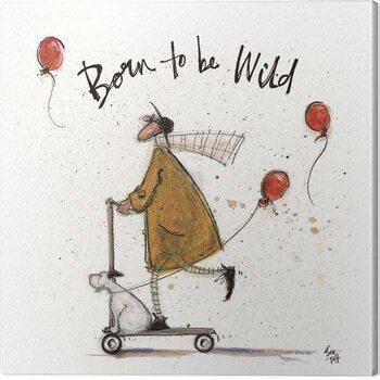 Canvas Sam Toft - Born to be Wild