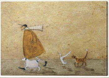 Obraz na plátne Sam Toft - Ernest, Doris, Horace and Stripes