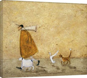 Sam Toft - Ernest, Doris, Horace And Stripes Canvas