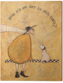 Obraz na plátne Sam Toft - How Dis We Get So Old, Doris?