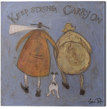 Canvas Sam Toft - Keep Strong Carry On