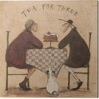 Canvas Sam Toft - Tea For Three