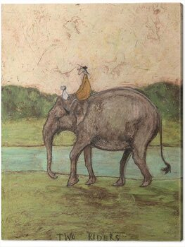 Canvas Sam Toft - Two Riders