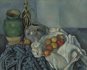 Canvas Still Life with Apples