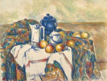 Canvas Still Life with Blue Pot