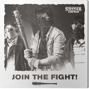 Canvas Stranger Things - Join the Fight