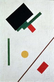 Canvas Suprematist Composition, 1915