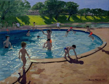 Swimming Pool, 1999 Canvas