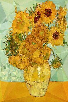 Obraz na plátne Symphony In Yellow And Blue