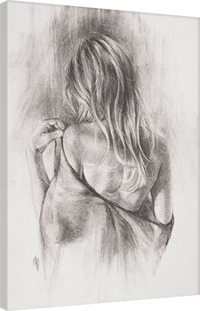 T. Good - Nocturnes in Charcoal II Canvas