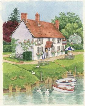 Obraz na plátne The Boat Inn, 2003