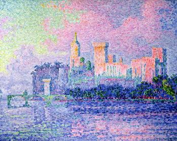 Obraz na plátne The Chateau des Papes, Avignon, 1900
