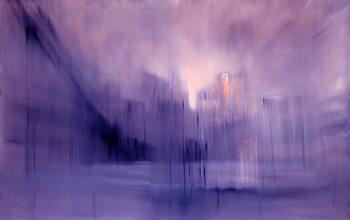 Canvas the foggy dew