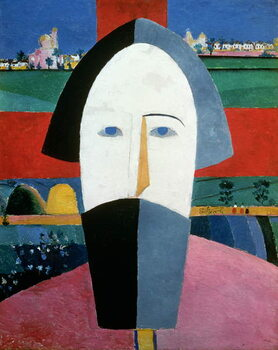 Canvas The Head of a Peasant