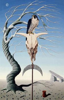 Obraz na plátne The Neolithic Totem