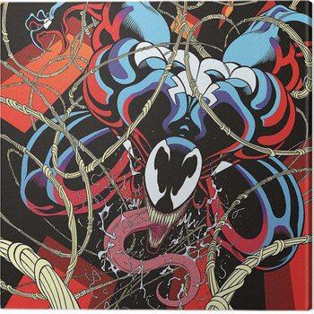 Obraz na plátne Venom - Symbiote free fall