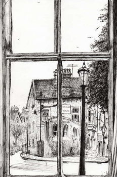 View from Old Hall Hotel Buxton, 2009, Canvas