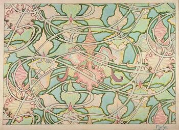 Obraz na plátne Wallpaper design