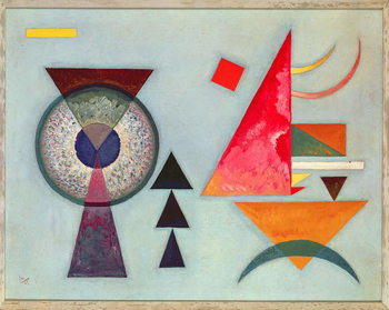 Obraz na plátne Weiches Hart (Soft Hard) 1927