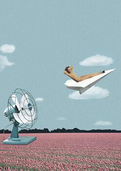 Obraz na plátne Where the wind takes me