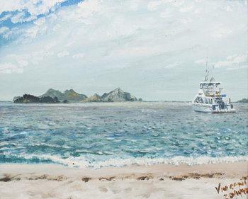 Obraz na plátne Whitsunday Islands Australia, 1998,