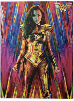 Canvas Wonder Woman 1984 - Neon Static