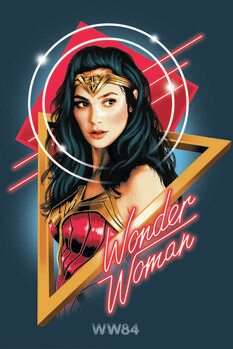 Obraz na plátne Wonder Woman - Welcome to the 80s