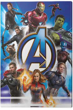 Avengers: Endgame - Avengers Unite Canvas