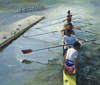 Away from the Raft, Henley Canvas