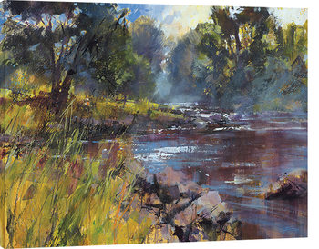 Chris Forsey - Rocky River Canvas