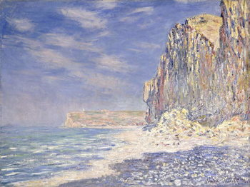Cliffs near Fecamp, 1881 Canvas