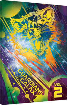Guardians Of The Galaxy Vol. 2 - Rocket canvas