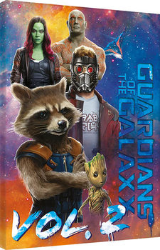 Guardians Of The Galaxy Vol. 2 - The Guardians Canvas