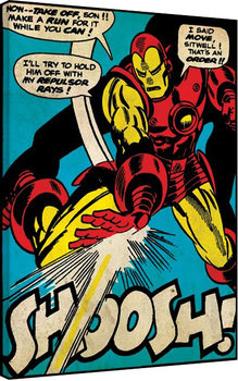 Iron Man - Shoosh Canvas