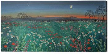 Jo Grundy - Twilight Meadow Canvas