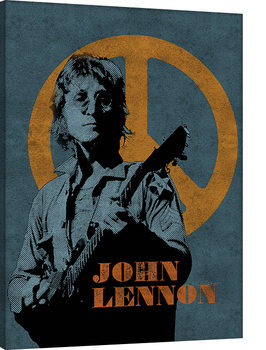 John Lennon - Peace Sign Canvas