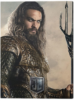 Justice League Movie - Aquaman Canvas