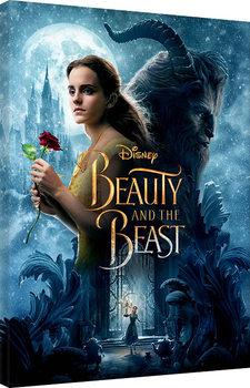 Obraz na plátne Kráska a zviera - Beauty and the Beast - Tale As Old As Time