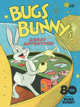 Looney Tunes - Bugs Bunny Great Adventure Canvas