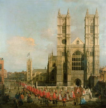 Procession of the Knights of the Bath Canvas