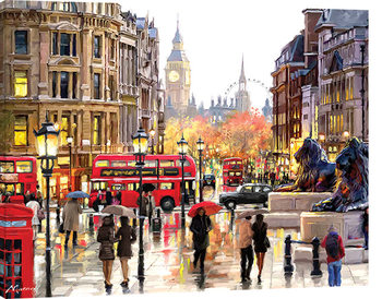 Obraz na plátne Richard Macneil - London Landscape