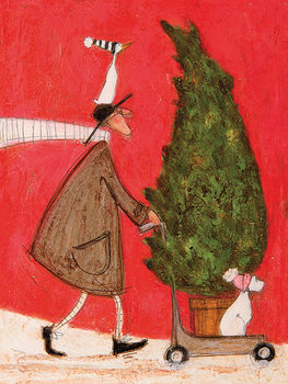 Obraz na plátne  Sam Toft - Little Silent Christmas Tree