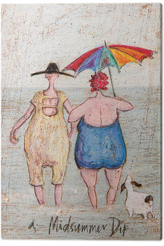 Sam Toft - Midsummer Dip Canvas