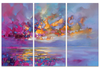 Scott Naismith - Magenta Refraction Canvas
