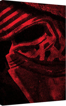 Star Wars Episode VII: The Force Awakens - Millennium Falcon Pencil Art canvas