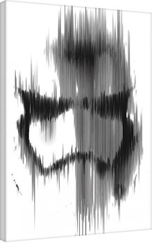 Star Wars Episode VII: The Force Awakens - Stormtrooper Paint canvas