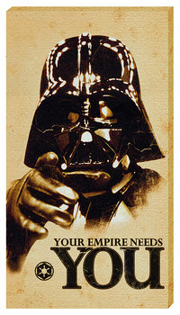 Canvas obraz Star Wars - Your empire needs YOU