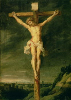 The Crucifixion Canvas