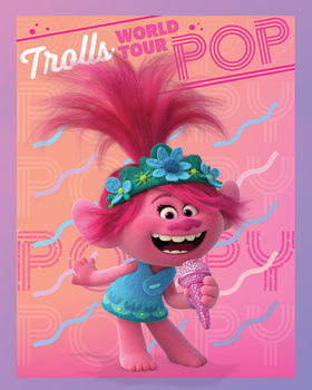 Trolls World Tour - Poppy Canvas